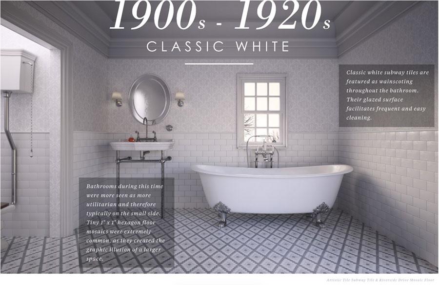1900 - 1920 Bathroom Design