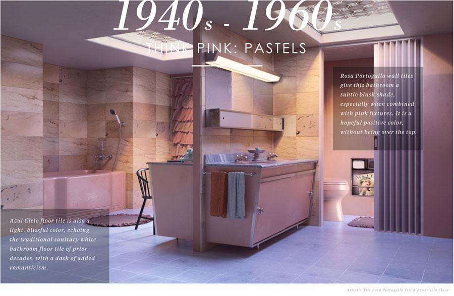 1940 1960 Bathroom Design
